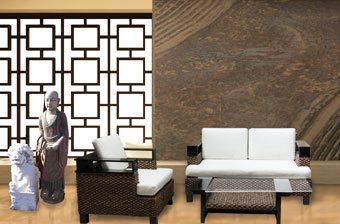 Asian living room decor