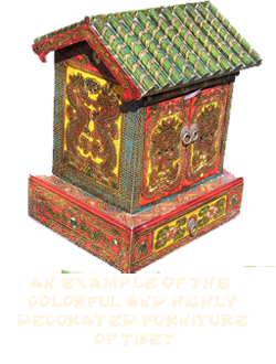 an example of Tibetan furniture